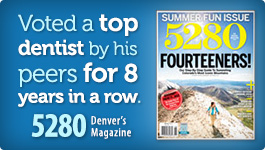 Boulder dentist Dr. Gordon West is voted best dentist multiple years in a row!